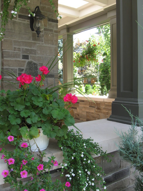 Lorne Park Prairie Style Home traditional-exterior