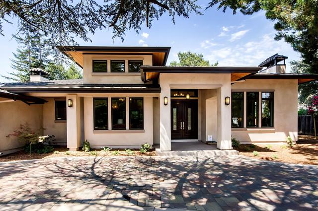 Los Altos Contemporary Ranch - Modern - Exterior - san ...