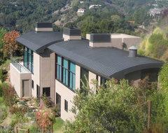Los Altos Hills Residence contemporary-exterior
