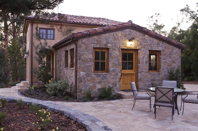 Los Altos Hills Winery mediterranean-exterior