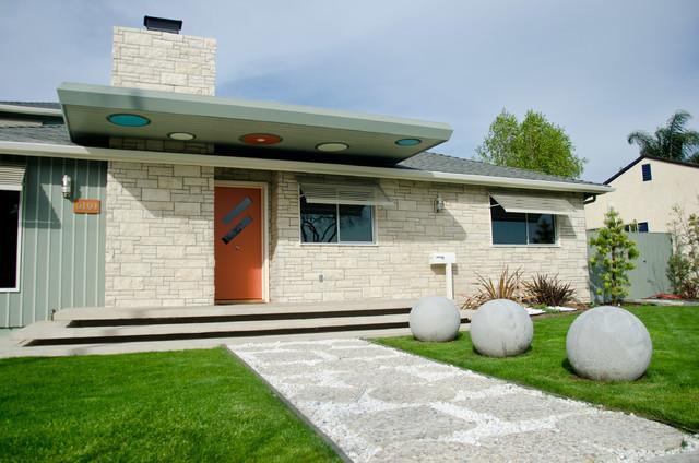 Los altos mid century modern home anni 39 50 facciata for Piccola fattoria moderna