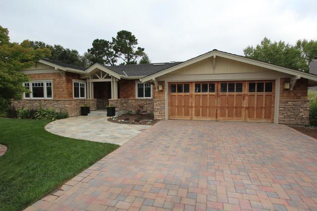 Los altos ranch remodel for Redesign home exterior