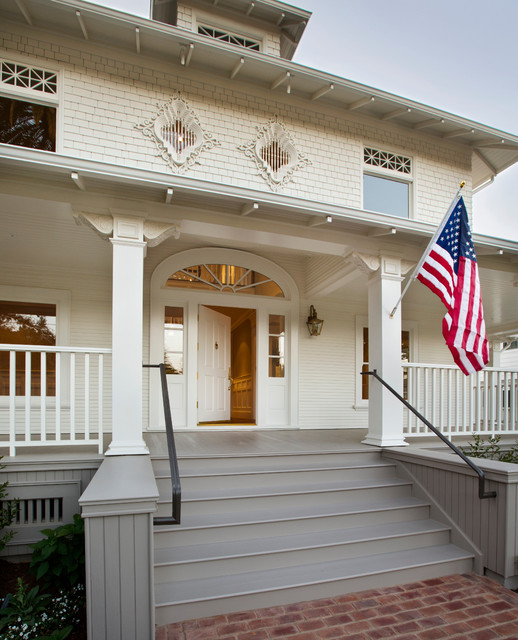 Historic Restoration traditional-exterior
