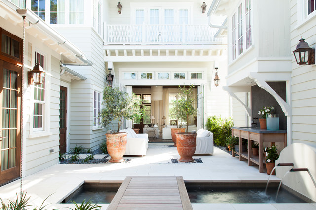 Low Country Beach Cottage Beach Style Exterior By T