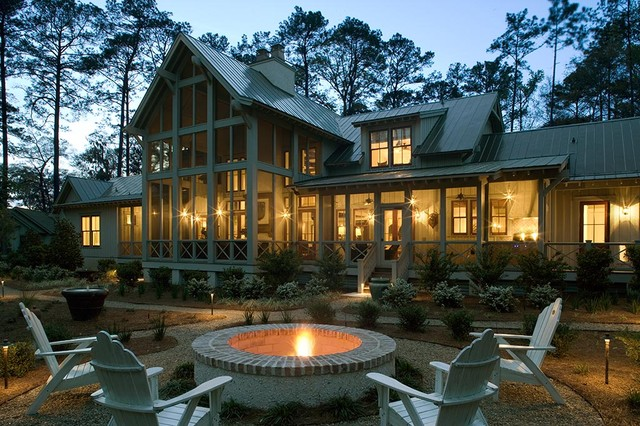 Lowcountry Residence tropical-exterior
