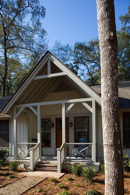 Lowcountry Residence rustic-exterior