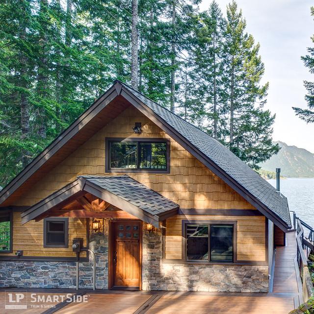LP SmartSide Cedar Shakes 2 Rustic Exterior