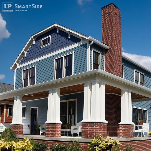 Lp smartside cedar shakes 3 craftsman exterior for Lp smartside shake colors
