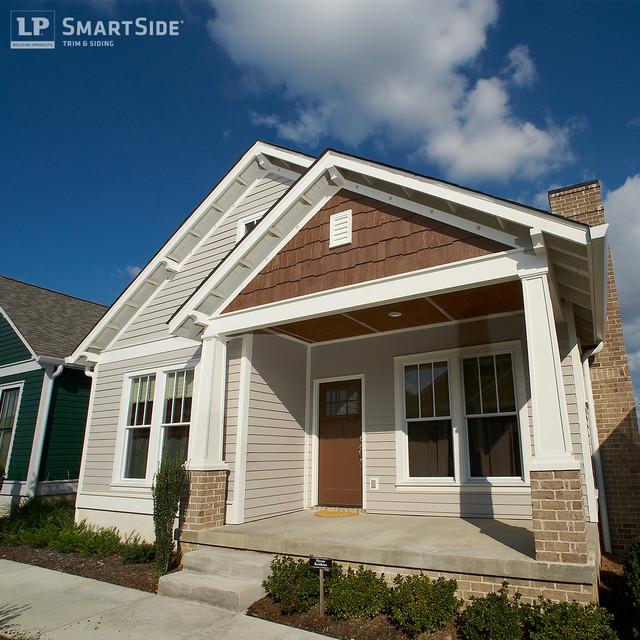 Lp smartside cedar shakes 4 craftsman exterior for Smart lap siding colors