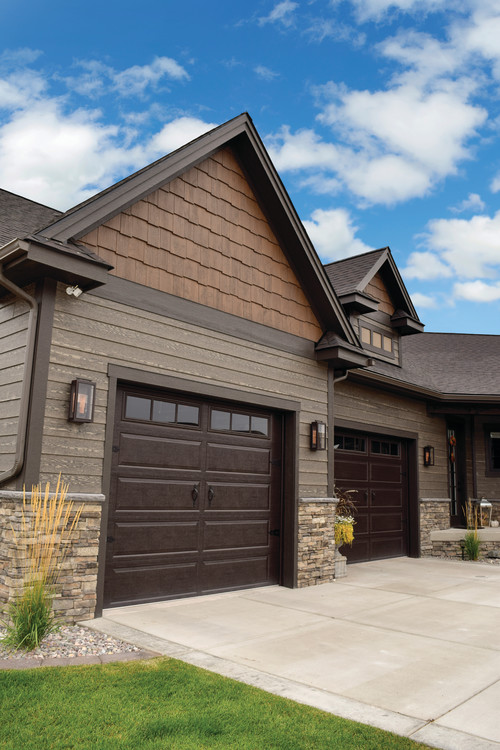 Like the garage doors for Lp smartside color strand