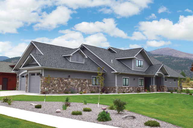 Lp smartside colorstrand teton craftsman exterior for Lp smartside color strand