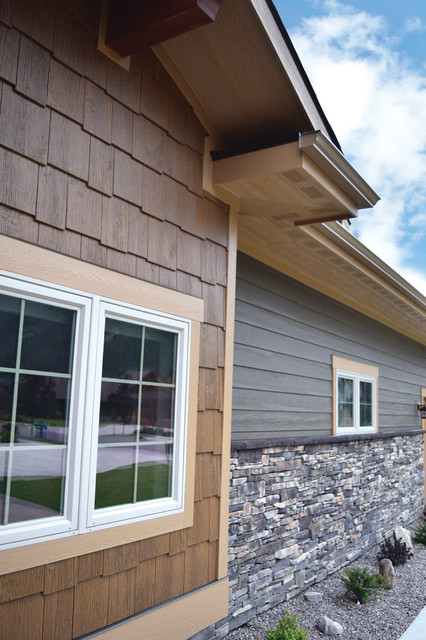 lp smartside colorstrand walnut craftsman exterior