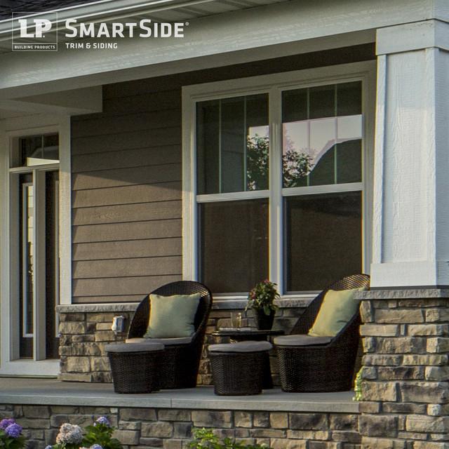 Lp Smartside Lap Siding 12 Contemporary Exterior