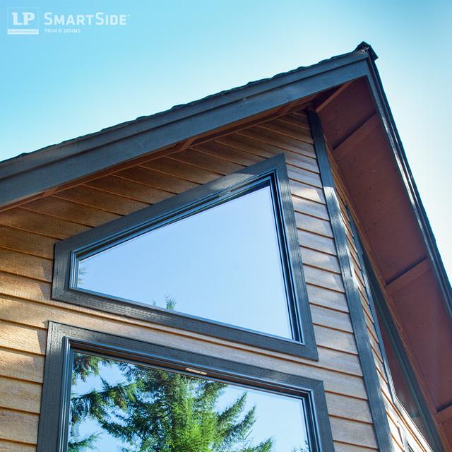 Lp smartside lap siding 2 contemporary exterior for Lp smartside lap siding sizes