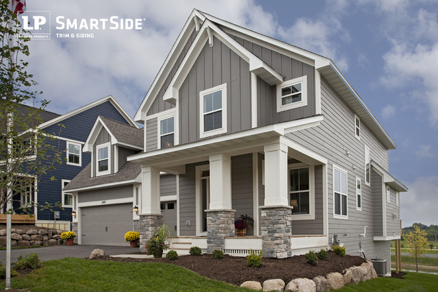 Lp Smartside Lap Siding 9 Traditional Exterior