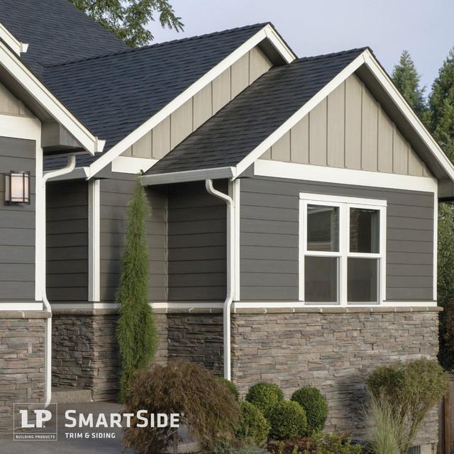 Lp Smartside Panel Siding 10 Modern Exterior