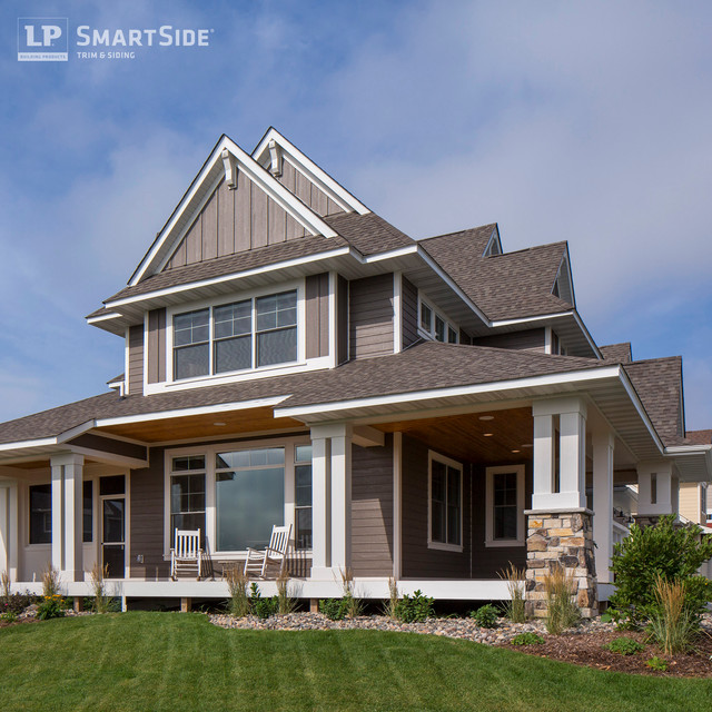 Lp Smartside Panel Siding 5 Eclectic Exterior