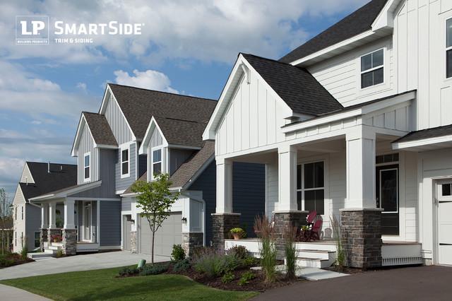 Lp smartside panel siding 7 craftsman exterior for Lp smartside lap siding sizes