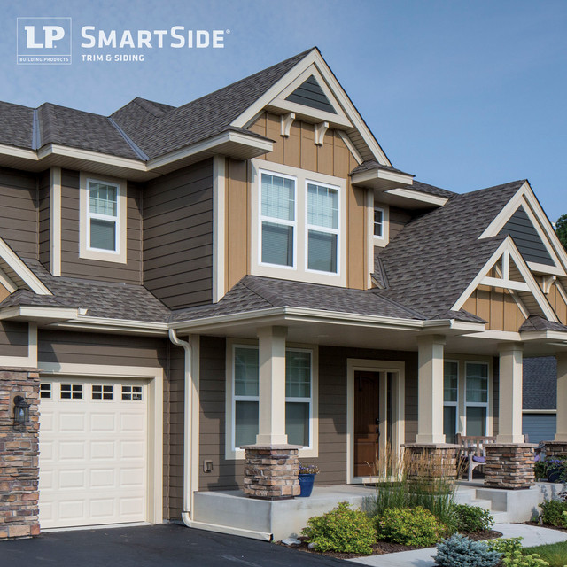 Lp Smartside Panel Siding 9 Modern Exterior