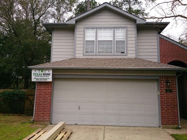 Lp Smartside Siding Job In The Woodlands Tx Exterior