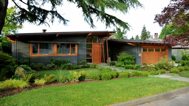 Lucerne Place - Midcentury - Exterior - Vancouver - by James Paul ...