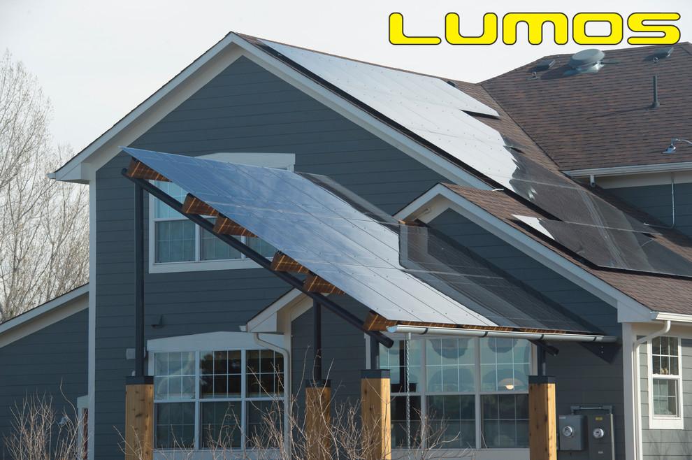 Lumos LSX Patio Awnings & Solar Canopy - Traditional ...