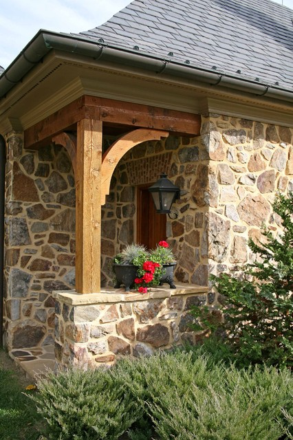 Lutherville-detail traditional-exterior