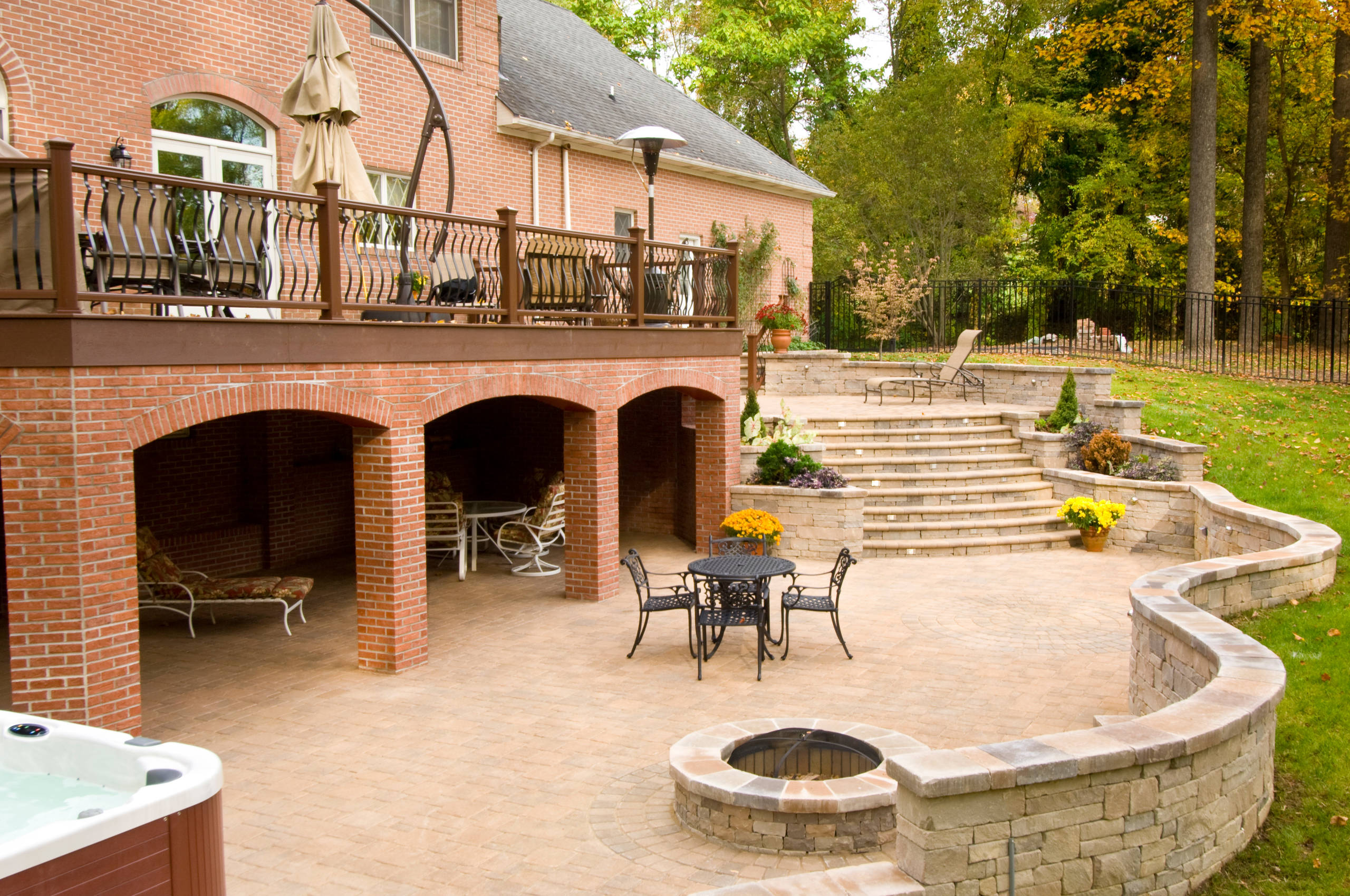 Lutherville Outdoor Living Environment