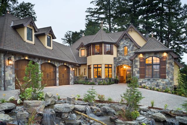 Luxury European House Plan 4912
