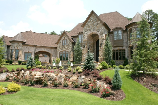 Luxury european style homes traditional exterior for Luxury home exteriors