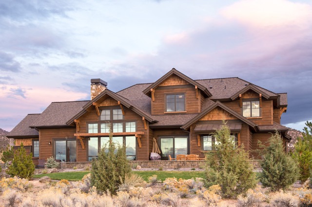Luxury mountain craftsman house plan 1497 rustic for Luxury mountain home plans