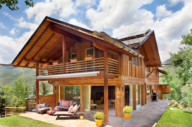 Luxury Residence - West Vail, CO - Rustic - Exterior ...