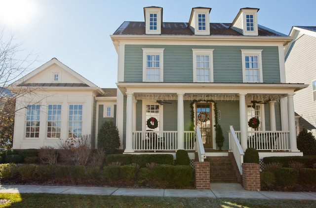 Lydia 39 s retreat traditional exterior nashville by for Miller exterior paint