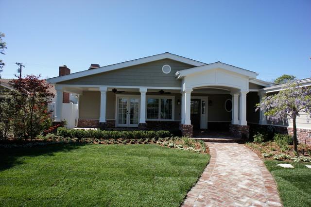 Lyman Residence, Rossmoor CA. traditional-exterior