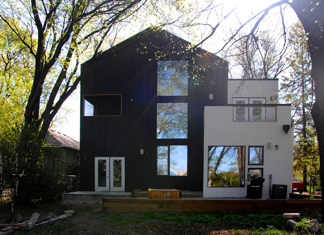 Lyndale House contemporary-exterior