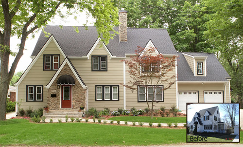 Traditional Exterior Design By Detroit General Contractor M J Whelan