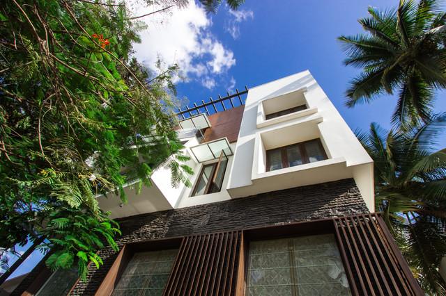 M2 House contemporary-exterior