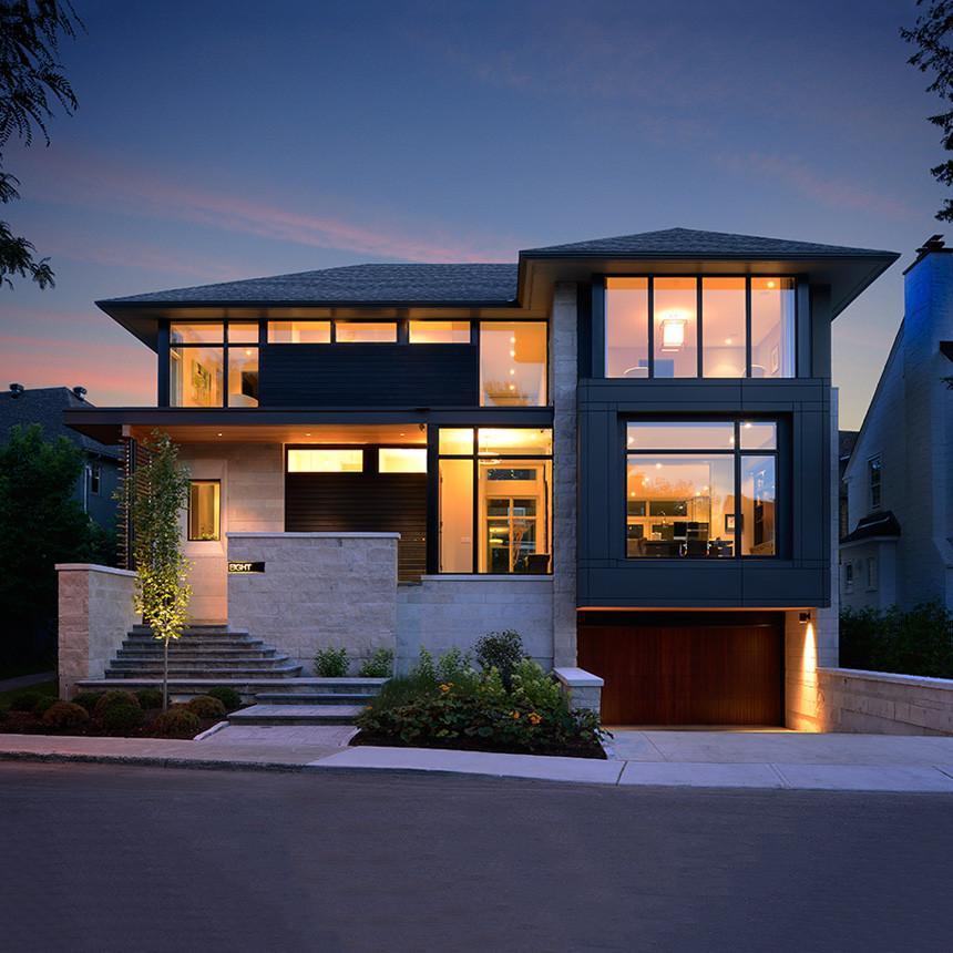 Modern Home Exterior Design Ideas 2017: Madawaska Drive