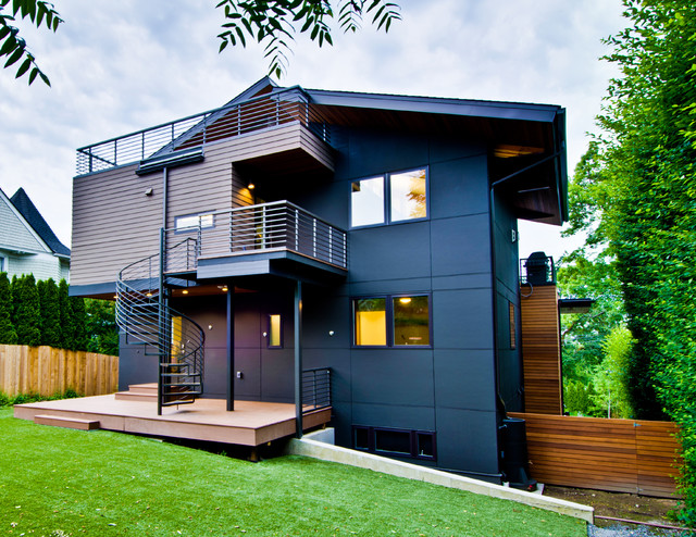 Madrona residence contemporary exterior seattle by for Residential exterior design