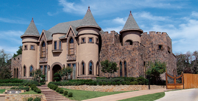 Magnificent belgian castle house coronado manufactured for Castle modular homes