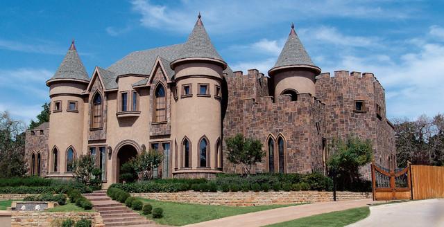 Magnificent belgian castle house coronado manufactured for Castle home builders