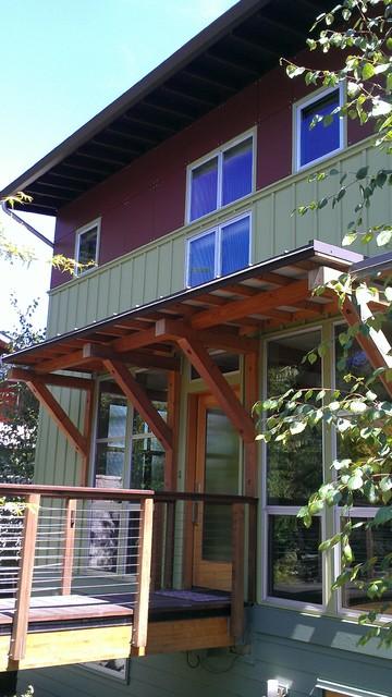 Magnolia Home Re-siding contemporary-exterior