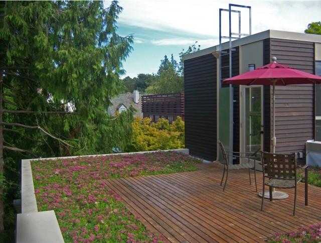 Magnolia Residence contemporary-exterior