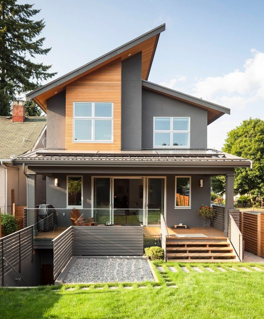 Magnusson residence contemporary exterior vancouver for Contemporary house pictures