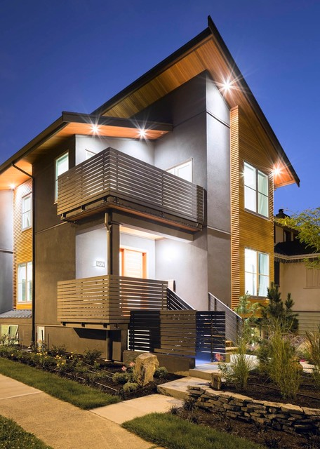 Magnusson Residence contemporary-exterior