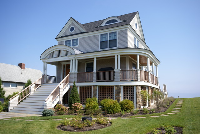 Maine Beach House Traditional Exterior Boston By