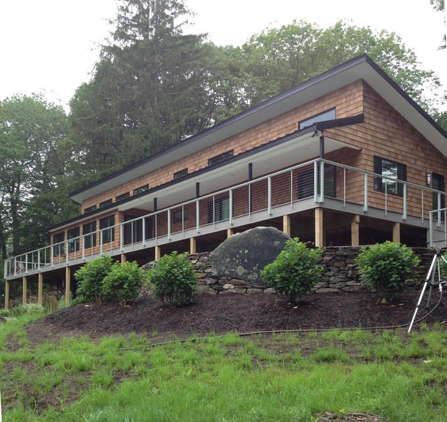 Maine Plat House Contemporary Exterior Portland