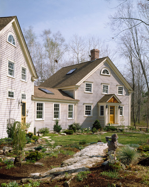 Maine Post And Beam Dream Traditional Exterior