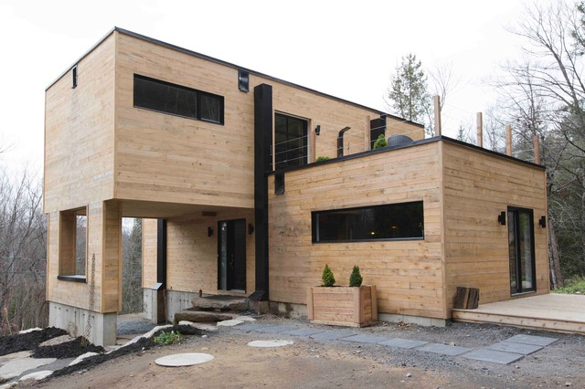 Container Home Design Ideas container housing italy Photo Of An Industrial Exterior