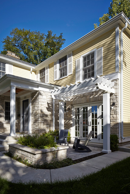 Makeover In Wilmette Traditional Exterior Chicago